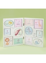 LOVELY BABY COLLAGE - HINGED - MY FIRST YEAR
