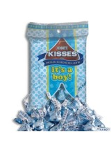 HERSHEY'S® BIRTH ANNOUNCEMENT KISSES - BOY