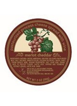 Merlot Cheddar - Wine Cheese Cups 2oz Mille Lacs