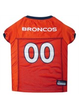 NFL Denver Broncos Dog Jerseys
