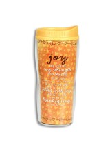 INSULATED ACRYLIC TRAVEL MUG - JOY