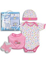 4-PIECE BABY GIFT SET