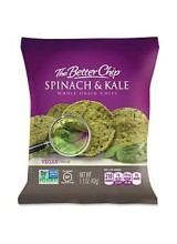 The Better Chip Spinach and Kale Tortilla Chip