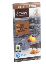 Salazon Organic Dark Chocolate - Sea Salt and Almonds