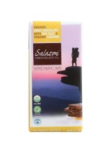 Salazon Organic Dark Chocolate Bar - Sea Salt And Caramel