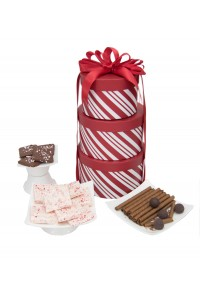 Chocolate Peppermint Gift Tower