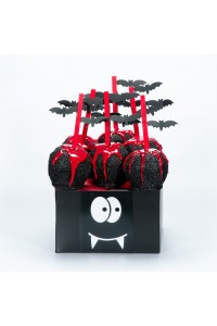 Little Vampire Candy Apple Halloween Gift Basket