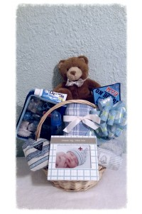 Baby Boy Basket
